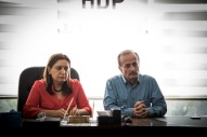 På besøk hos ledelsen til HDP i Amed