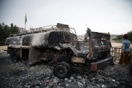Nusaybin ble hardt skadet under portforbudet.