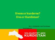 Del 1 i Solidaritet med Kurdistans foredragsserie