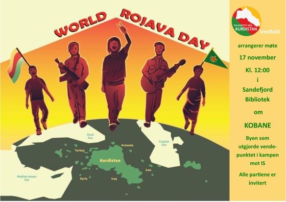 Kobanedag sandefjord-plakat