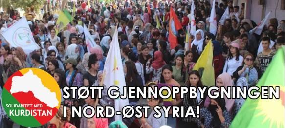 200430StøttNord og Øst Syria